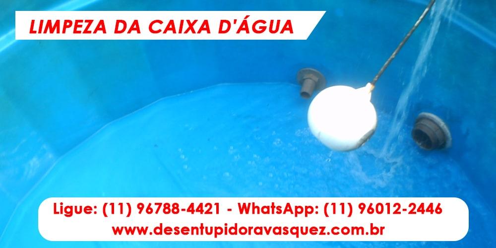 Limpeza e Higienização de Caixas D'Água